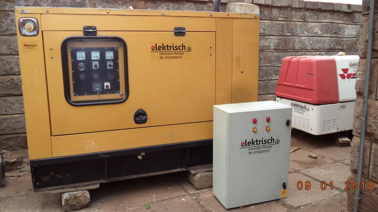 Business Backup - Elektrisch Generator Rentals